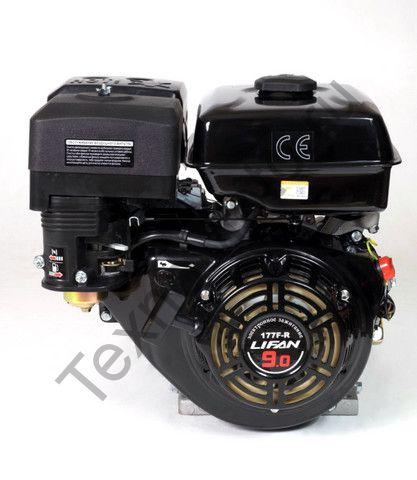 Двигатель Lifan 177F-R D22 (9 л. с.) с редуктором и катушкой освещения 3Ампер (36Вт)