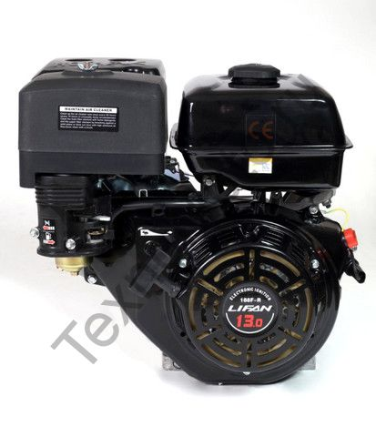 Двигатель Lifan 190F-R D22 (15 л. с.) с редуктором и катушкой освещения 3Ампер (36Вт)
