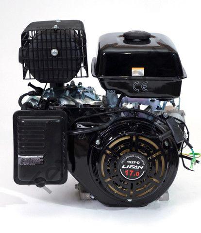 Двигатель Lifan 192F D25 (17 л. с.) с катушкой освещения 7Ампер (84Вт)